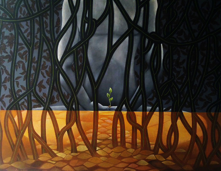 UNTITLED-----acrylic-on-canvas-60-X-48-inch-333333