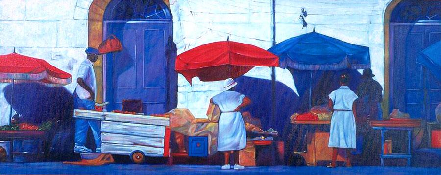 market-side