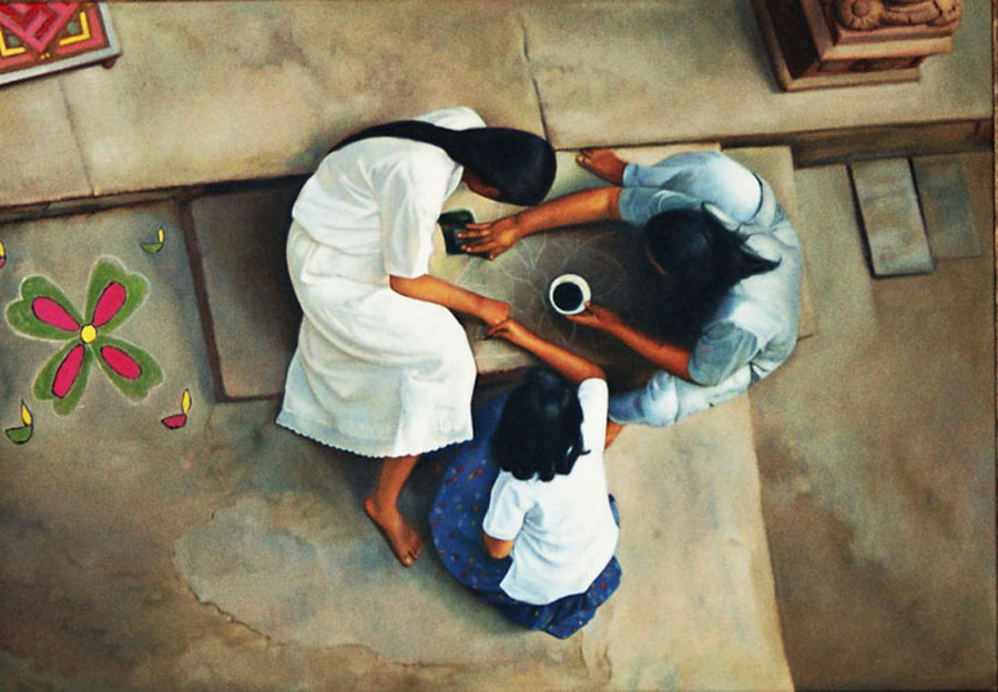 memories-of-Bhuj-18inch-x-25inch-oil-on-canvas-2005